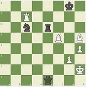 Carlsen v Giri mate in 3