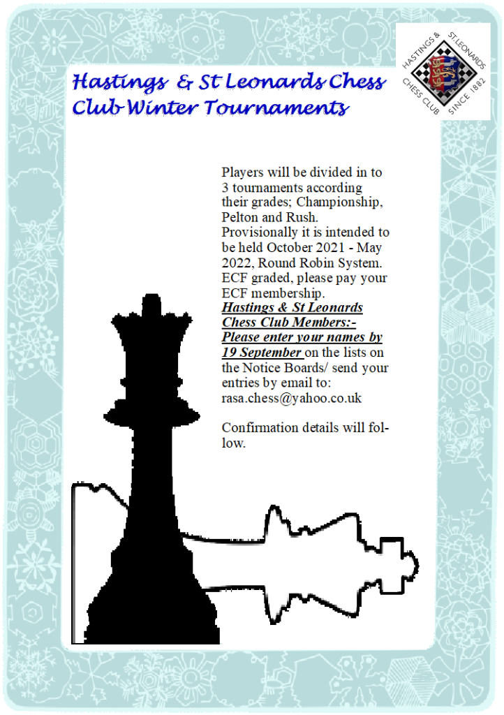 2021-2022 H&StLCC Winter Tournaments Poster